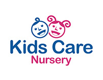 Kids Care Nursery Logo Design
