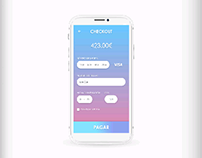 Gradient Checkout page