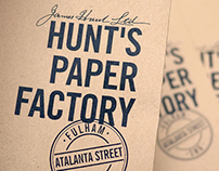 Hunt's Paper Factory