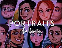 Website Portraits.