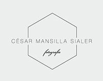 Logo Design for César Mansilla Sialer Photo