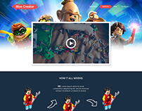 Lego Showcase Web Design