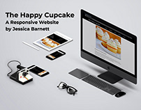 Responsive Web Design - The Happy Cupcake