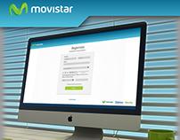 Web UI Layout - Movistar