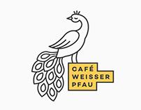 Café weisser Pfau Logo & Stationary