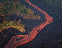 AERIAL // Hawaii Kilauea Volcano