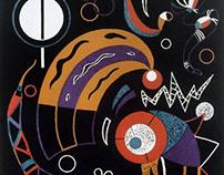 Wassily Kandinsky, Comets, 1938