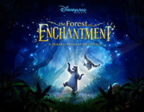 Disneyland's Forest of Enchantment