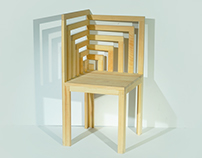 The Maze Corner Chair