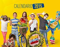 Calendario Bancolombia 2015