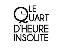 """Teaser des conférences """"Le Quart d'Heure Insolite"""""""