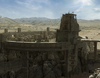 Matte paintings (selection)