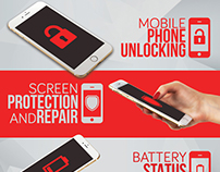 Smartphone Repair 4 Flyer/Poster