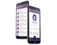 Freelancing app design