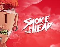 Illustration - Smoke in the head