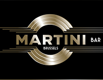 Identity design Martini Bar Brussels - @PURESANG