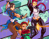 Street Fighter Legends: Cammy #2 - Danger Girl Homage