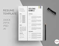 Clean CV and Cover Letter template