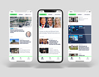 VRT NWS app & website redesign