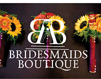 Bridesmaids Boutique brand identity