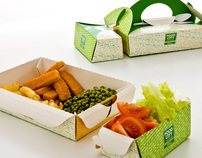 Modular Takeaway Fast food packaging