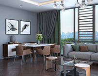 Living room .U