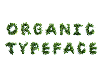 Organic Typeface