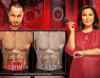 Cignal TV Print Ads