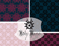 Surface pattern design : paper gift Holy Mane