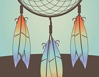 Dreamcatcher Illustration