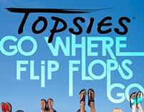 Brochure for Topsies footwear