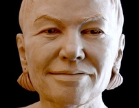 Portrait Sculpture - Mrs. Thomas Hart Benton V