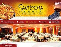 Restaurante Santíssima Bahia - Site