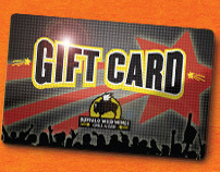Buffalo Wild Wings Gift Card & POP