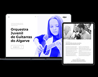 algarve youth guitar orchestra _Website