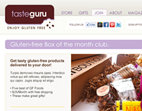 Taste Guru Website Design