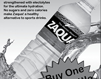 Zaqua Newspaper Ad