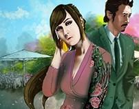 E-Novel Illustration