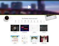 Agency Website // Concept