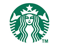 Star Bucks Coffee Logo Bumper