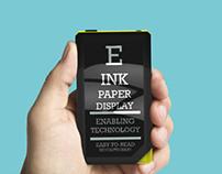 E-ink Phone