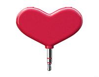 Rock my heart  — headphones splitter concept