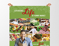Poster Design for Yummy Market