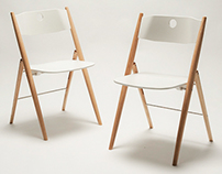 PINOCCHIO foldable chair by SAYS WHO