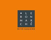Le Bon Marché visual identity