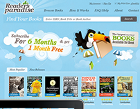 Readers Paradase, book renting system