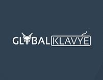 Global Klavye Logo Çalışması