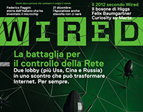 WIRED ITALY #DECEMBER - COVER & ILLUSTRATIONS