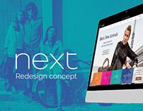 Next Redesign Concept