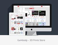 Gambody – 3D Prints Store